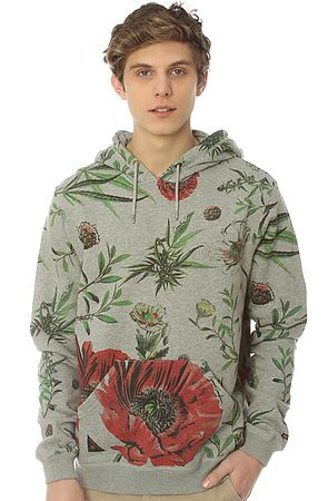 2b8d21dc1059cb 10 Deep Hoodie Bacchanal Sweatshirt in Heather Grey