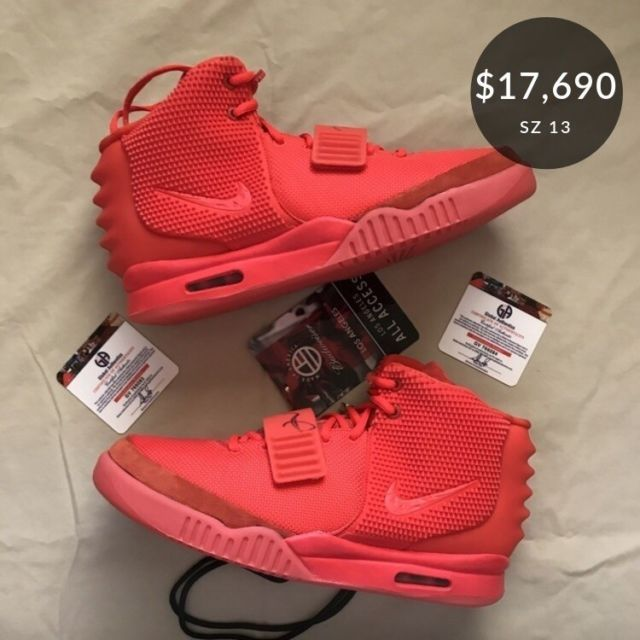 huge discount 573de 3f15f ... promo code for nike air yeezy 2 sp red october mens sz 13ds 508214  f6e62 fe3f9