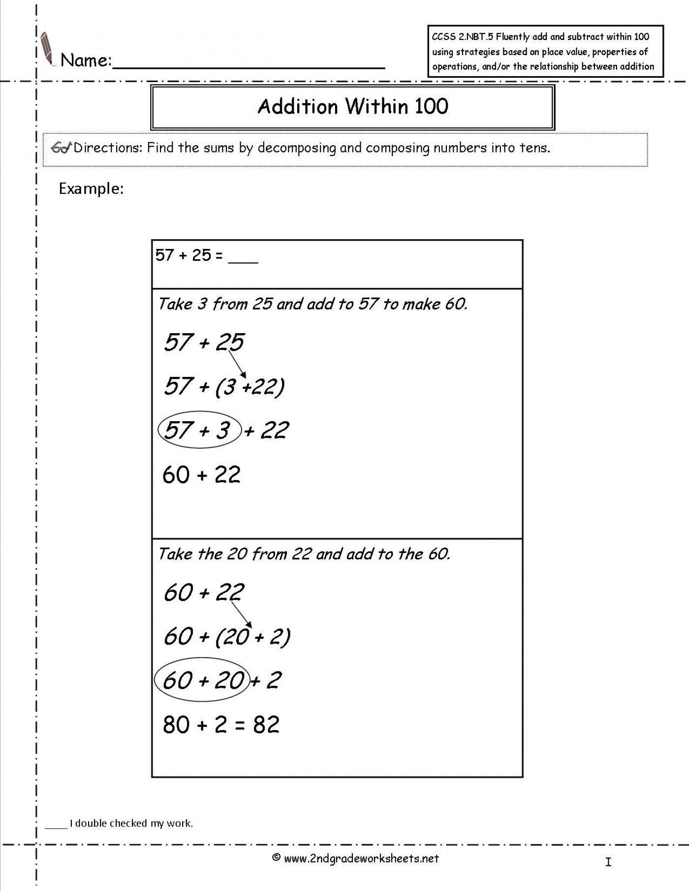 39 Simple Common Core Math Worksheets For You