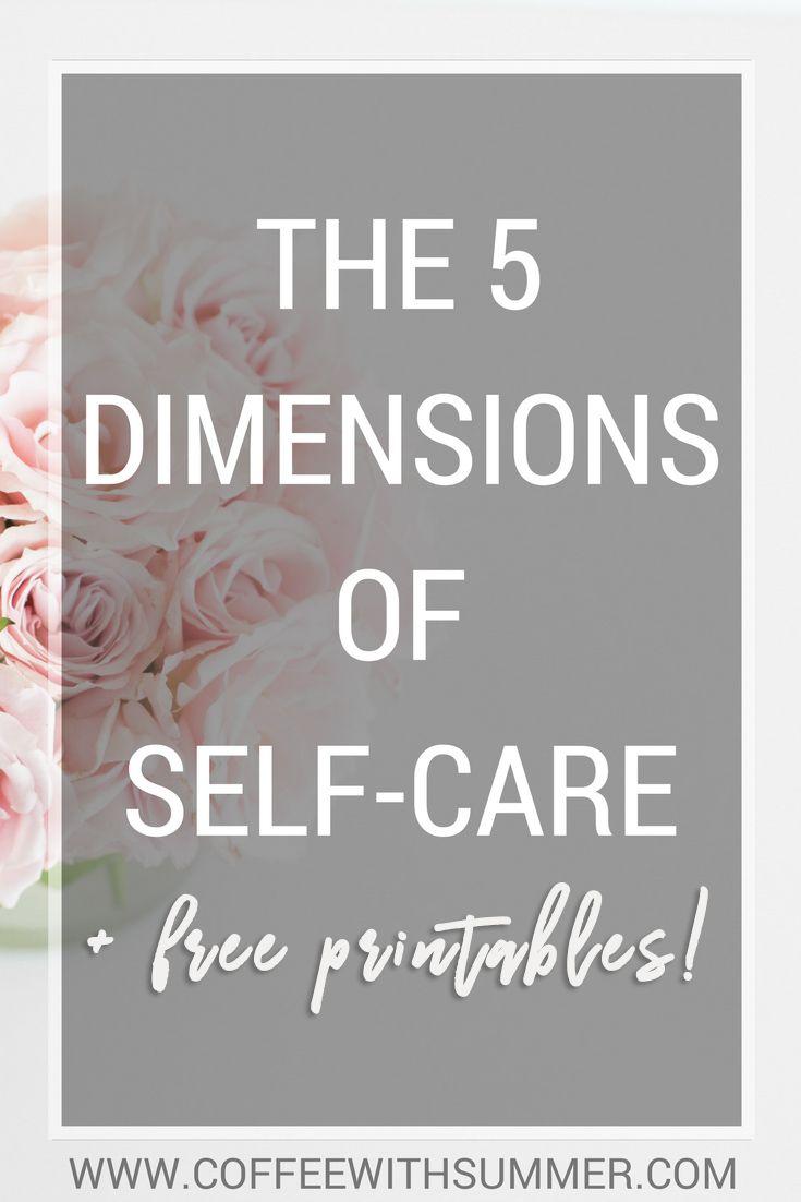 Die 5 Dimensionen der Selbstpflege – Kaffee mit Sommer   – ReadyKids
