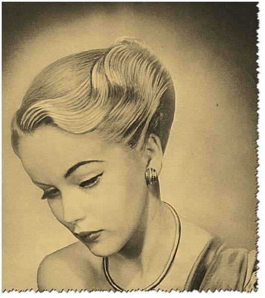 recogidos 1950 (2) | peinados antiguos y de época | pinterest