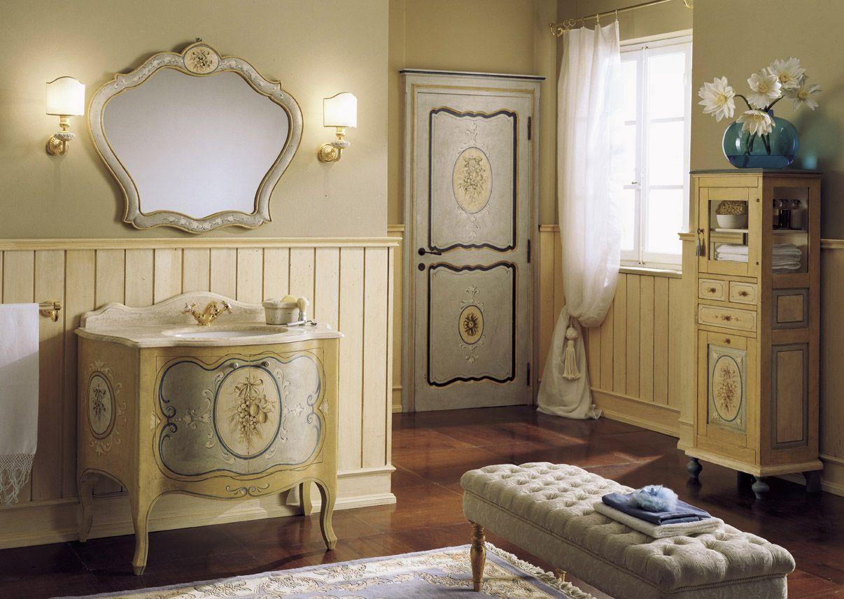 Мебель для ванных комнат Mobili di Castello: Decorated #hogart_art ...