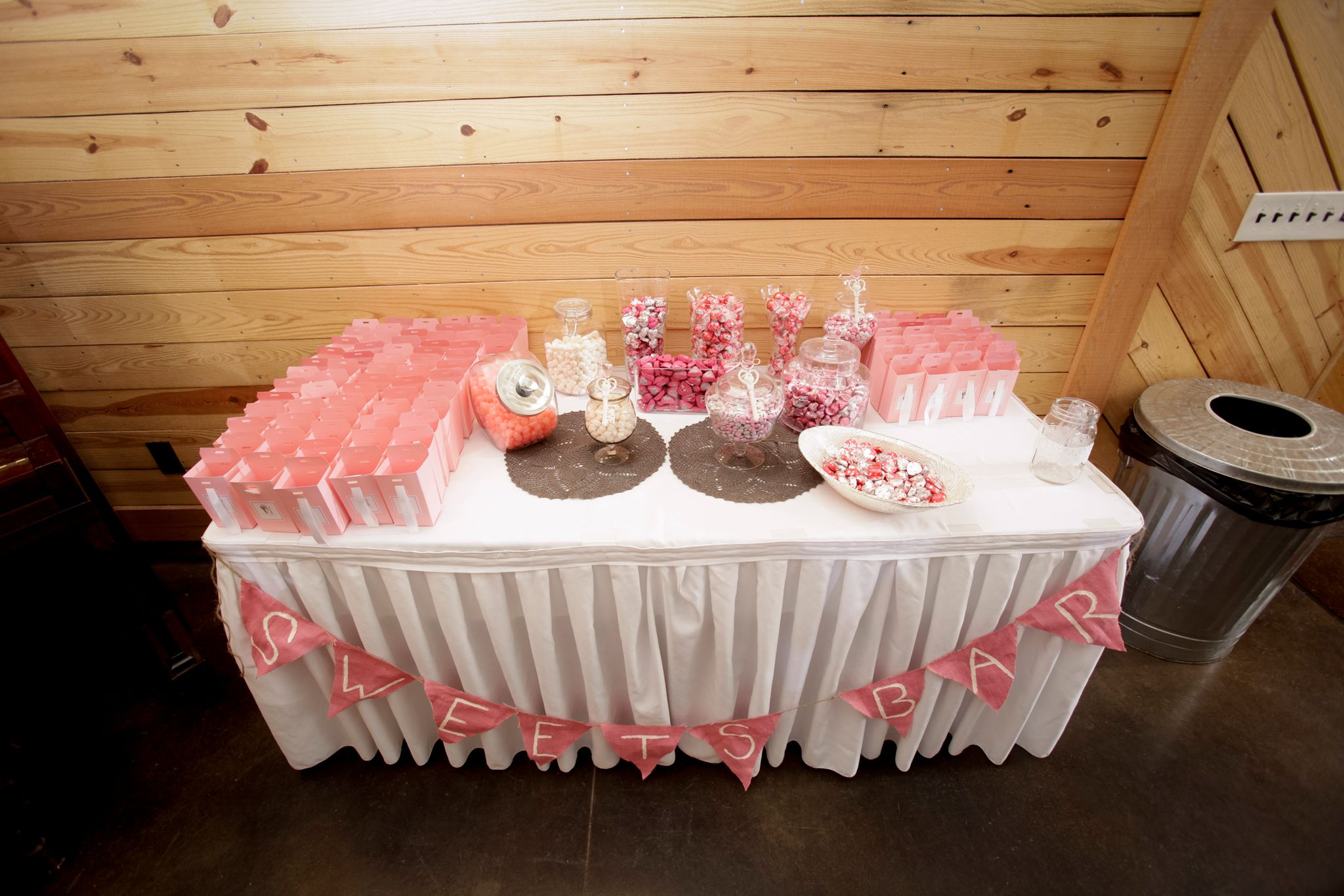 Alexander Homestead Barn Wedding Venue #wedding #candybar ...