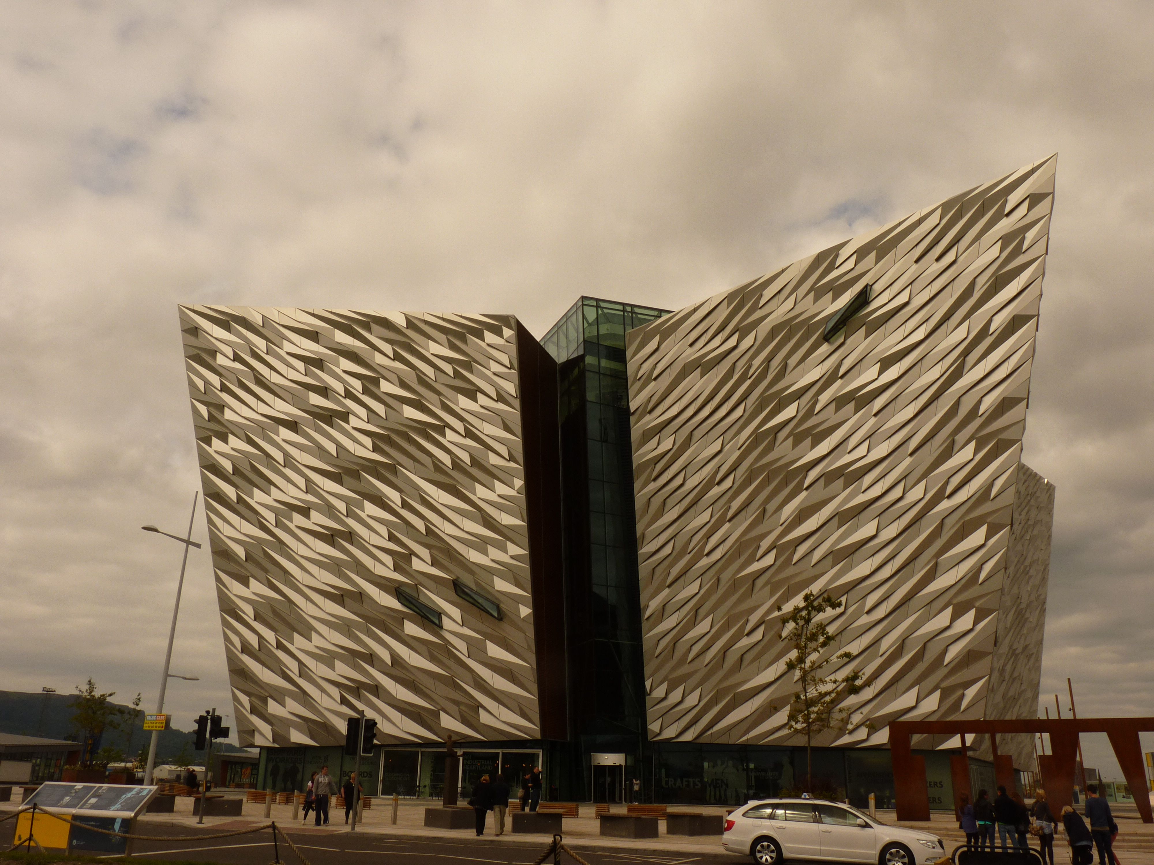 Belfast,Titanic Museum