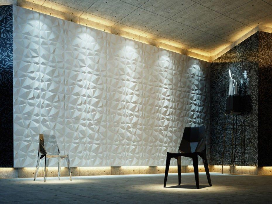 ce panneau mural en 3d angly apportera une touche de. Black Bedroom Furniture Sets. Home Design Ideas
