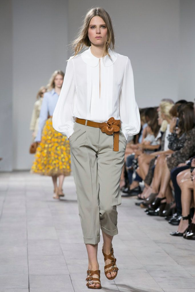 A look from the Michael Kors Spring 2015 RTW collection.