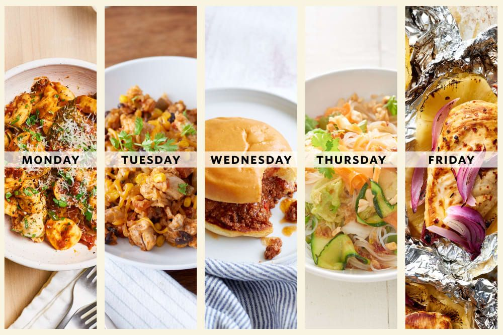Next Week's Meal Plan: A Week of Oven-Free Dinners When It's Too Hot to Cook images