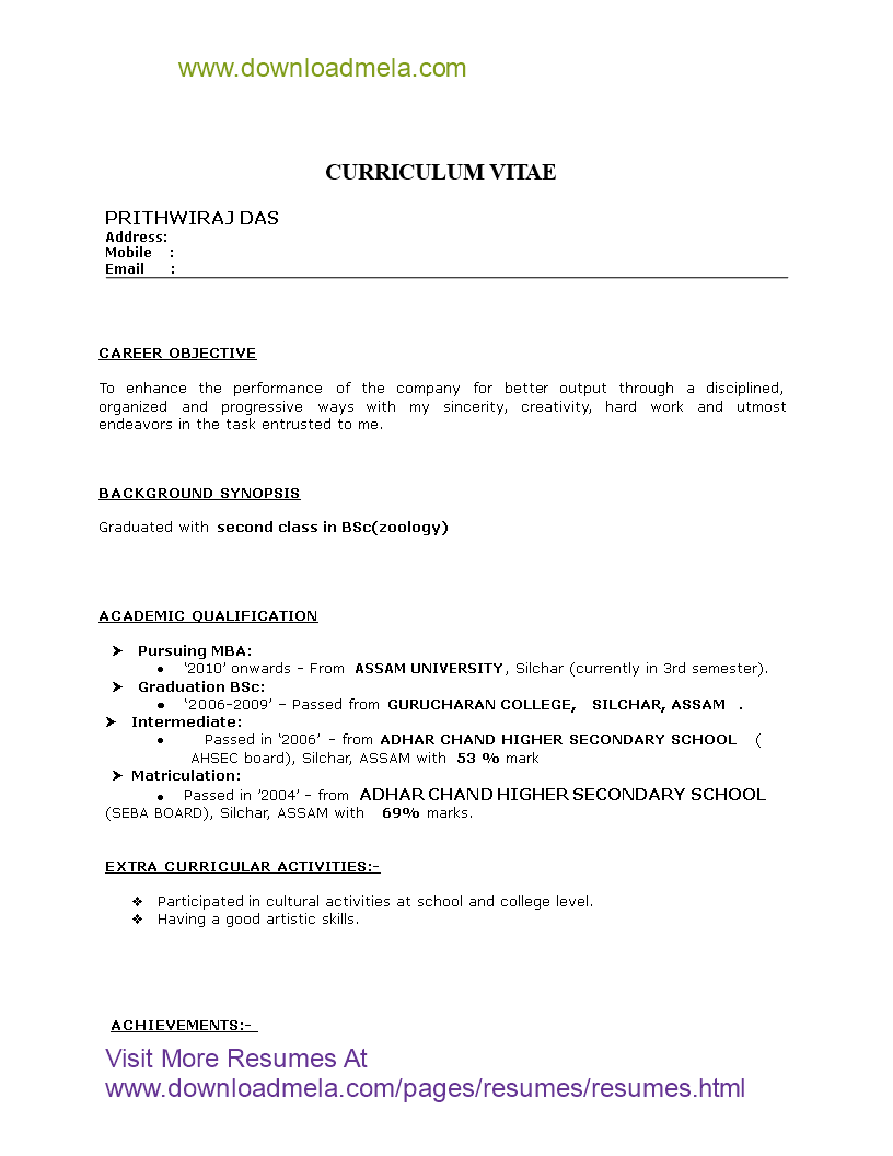Fresher Mba Hr Resume How To Create A Fresher Mba Hr Resume Download This Fresher Mba Hr Res Resume Format Download Resume Format Resume Format For Freshers