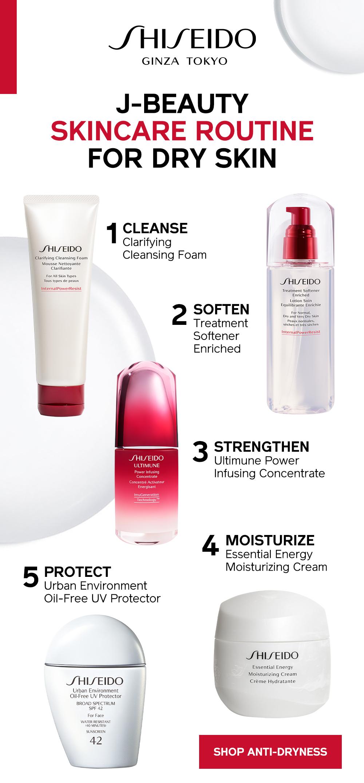 The Online Studio X Shiseido Japanese Skincare Routine Skin Care Routine Beauty Skin Care Routine
