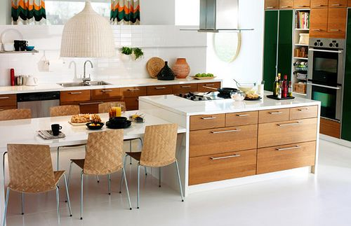 Aphrochic More Kitchen Talk Ikea Kitchens Kitchen Island Dining Table Ikea Kitchen Island Kitchen Island And Table Combo