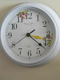 Small Fry & Co. : Snack Time Clock