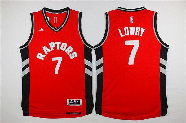 416d05868 Revolution 30 Raptors  7 Kyle Lowry Red Stitched NBA Jersey ...