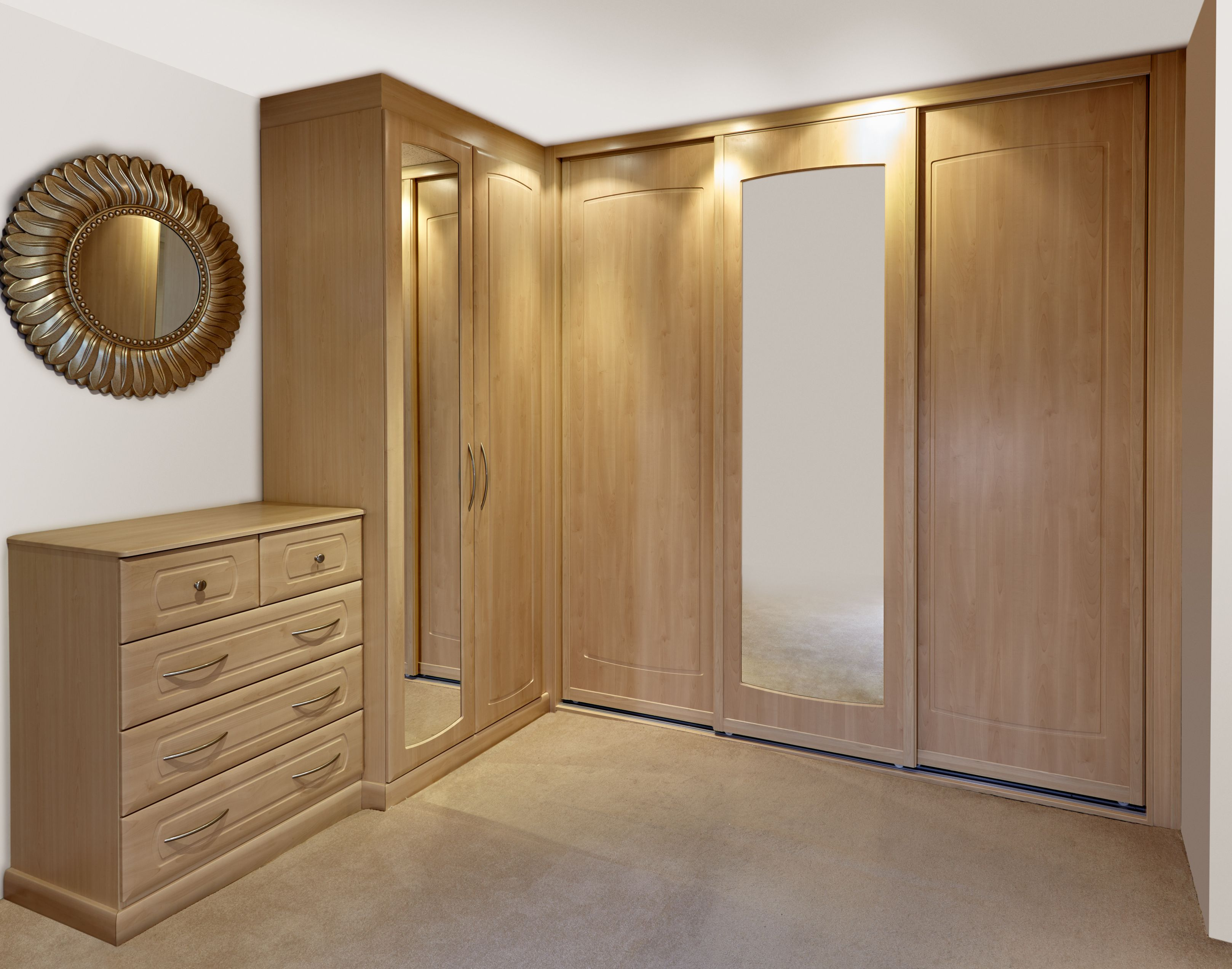 to bedroom furniture modern bespoke mirrored built closet wardrobe a fitted pin how ideas ltd build small