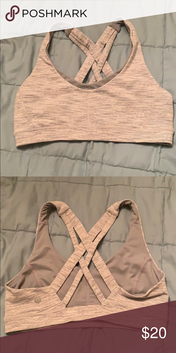 c83626cc7 Lululemon Stash N Run Bra Has pockets to stash things in lululemon  athletica Intimates   Sleepwear Bras