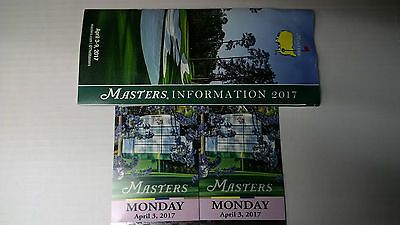Two (2) Masters 2017 Practice Round Tickets for Monday April 3 2017 https://t.co/1e2gn2I2p7 https://t.co/gAmvjIfs14