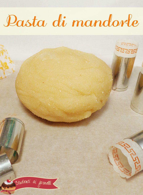 Pasta di mandorle fatta in casa   Come fare la pasta di mandorle