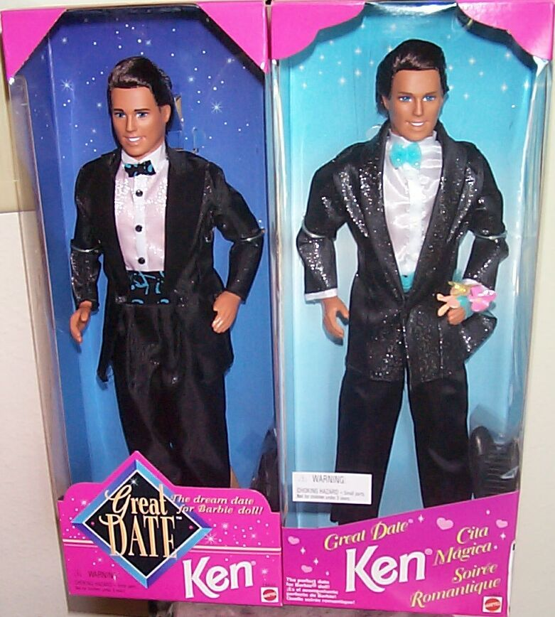 Barbie dating Ken dukke