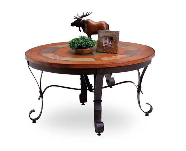 Coffee Tables Durango Round Coffee Table Circle Up Around This Stylish Piece Coffee Table Coffee Table Furniture Rowe Furniture