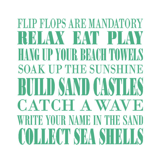 Sounds Like A Great Time Ready For Vacation Vacation Quotes - Wall decals beach quotes