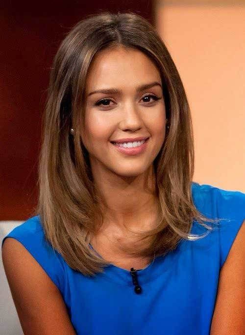 cute hairstyles for long bobs 2017  style you 7 is part of Jessica alba hair - and just above the shoulders  It is a great haircut for women who don't want to cut their hair short but have desire to change their appearance  Long bob   briefly lob   hairstyles are beautiful in any texture; straight and sleek or wavy and messy