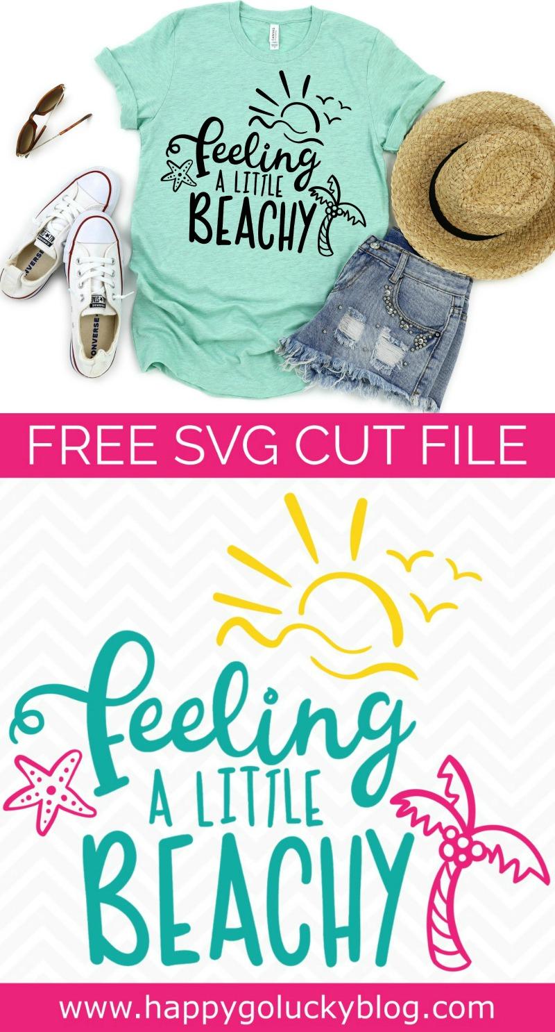 Feeling a Little Beachy {Beach SVG Cut File Collection}