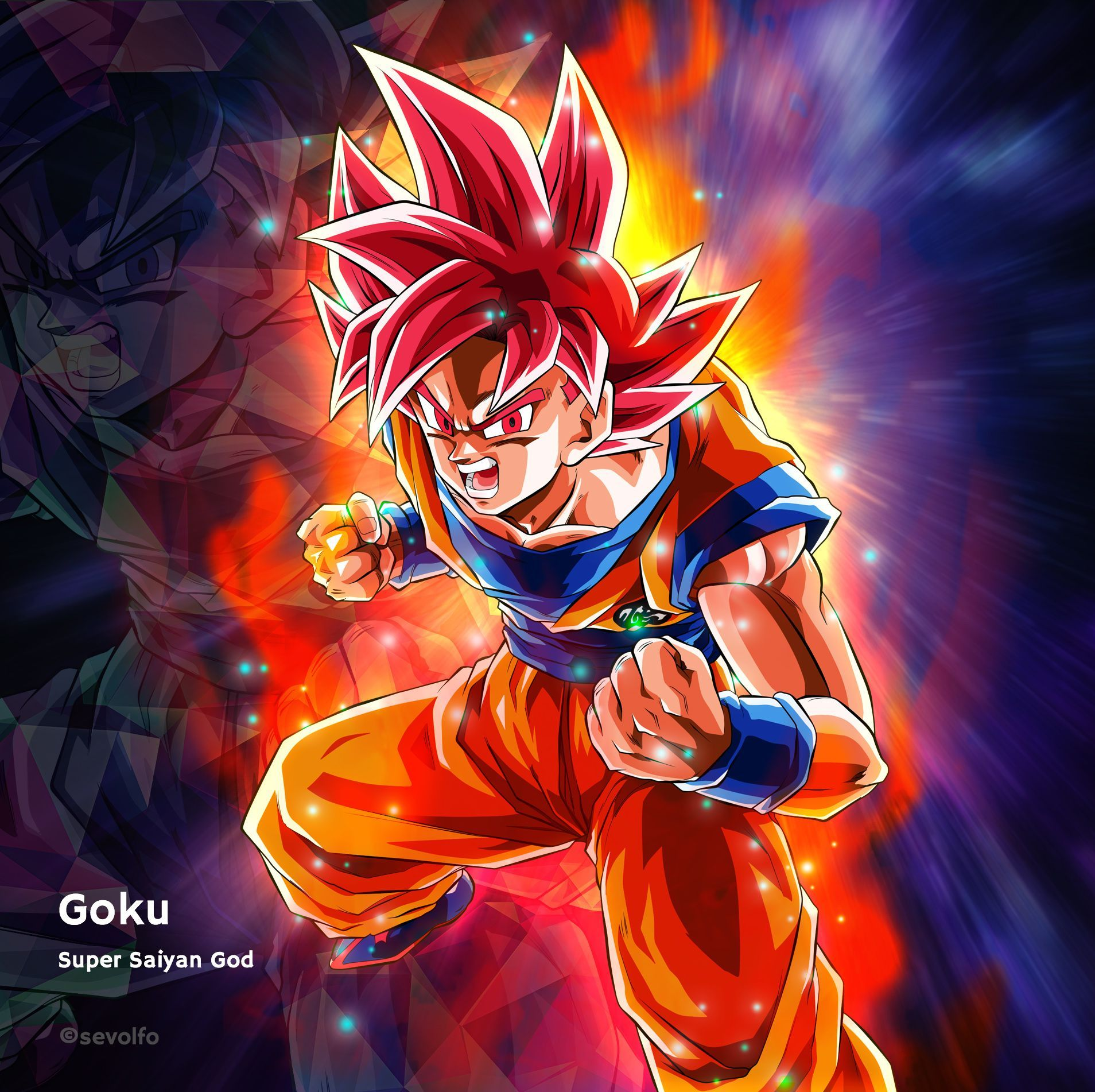 Wallpaper Dragon Ball Z Goku Super Saiyan Blue Anime Wallpaper