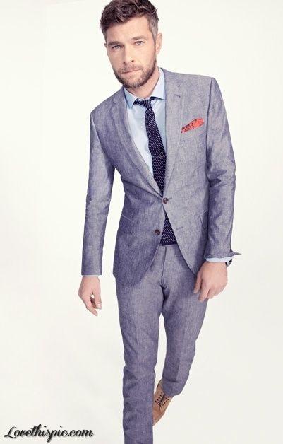 Grey Suit, Slim Fit, GQ Magazine, Men's Fashion, Men's Style ...