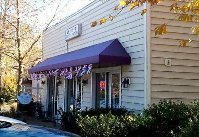 My favorite local tea room British Pantry and Dining Room in