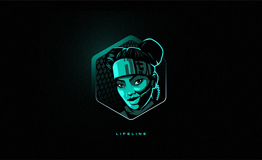 Apex Legends Character Icons On Behance Apex Iconic Characters Legend