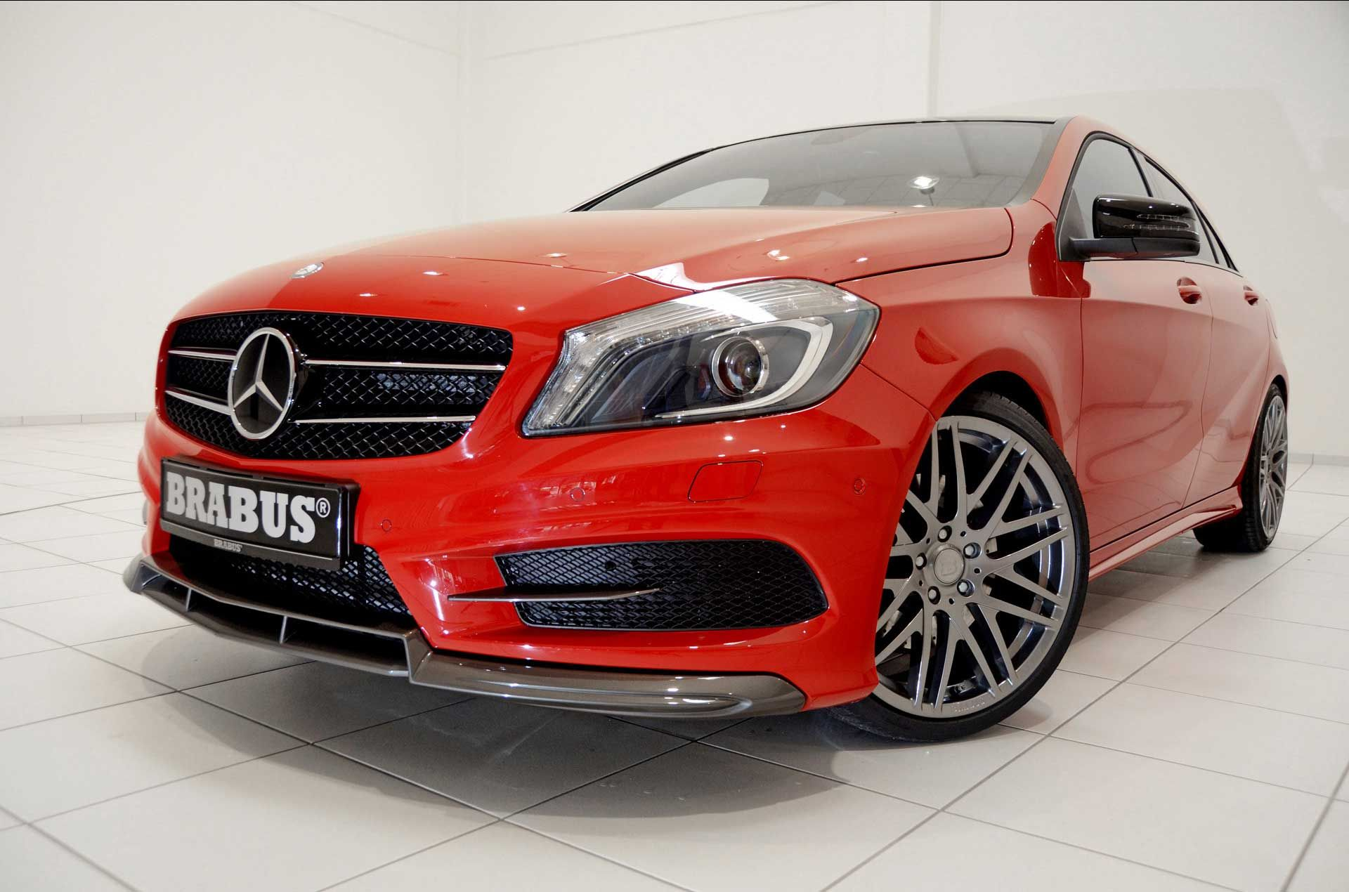 2012 Brabus Mercedes-Benz A-Class Price And Specs, Engine