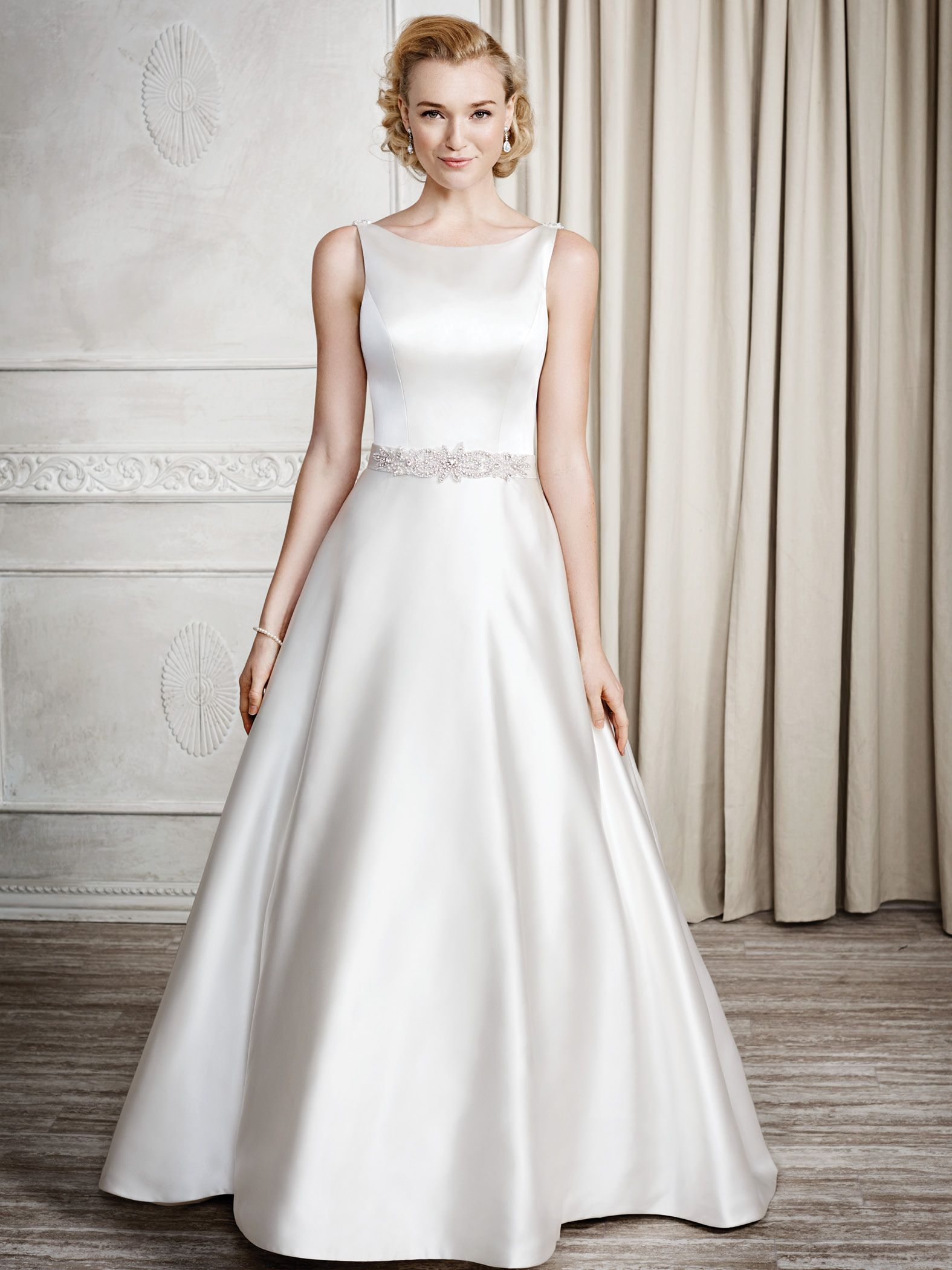 Kenneth Winston Style 1667 #weddingdress #bridal Available at Bridal ...