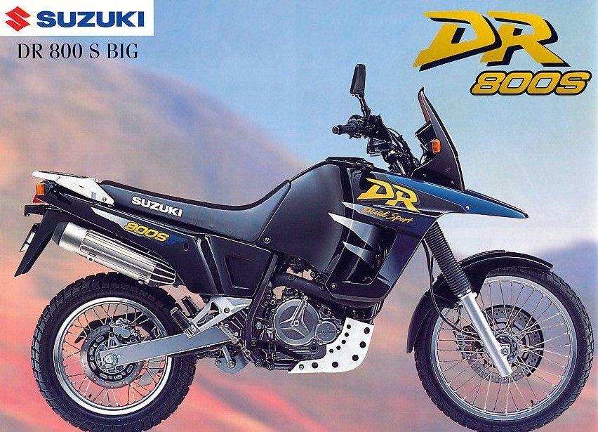 SuzukiDR800SBIGProspekt1298 オフロードバイク, オフロード, バイク