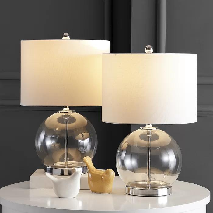 Latitude Run Ayrica 23 Table Lamp Set Reviews Wayfair In 2021 Table Lamp Sets Table Lamp Contemporary Table Lamps