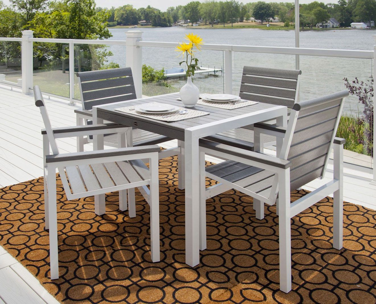 Simple Polywood Outdoor Furniture As Idea Of Exterior Home Design Http Www Amazadesign Com Si Polywood Outdoor Furniture Patio Dining Set Outdoor Furniture