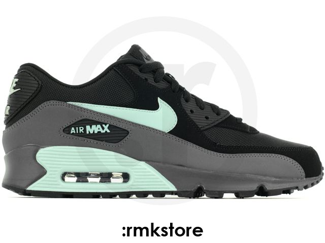 free shipping cfece 0926d Nike Air Max 90 Essential Black Mint Candy