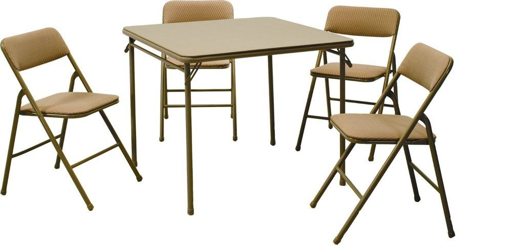 Dining Set 5 Piece Modern Kitchen Room Table Chairs Metal Breakfast Furniture Cosco Modern Table And Chair Sets Best Folding Chairs Card Table And Chairs