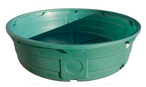 610 Gallon Green Poly Round Stock Tank In 2020 Plastic Stock Tanks Round Stock Tank Stock Tank