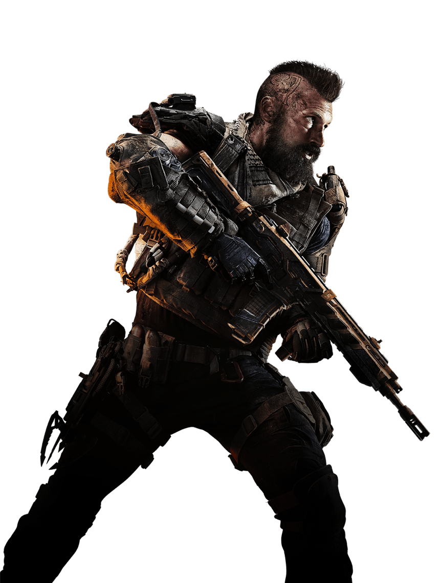 Call Of Duty Black Ops 4 Center Soldier Png Image Black Ops 4 Call Of Duty Black Ops