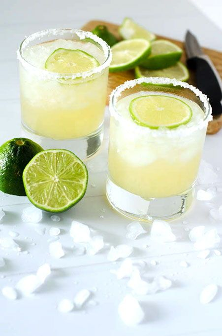 Perfect Classic Lime Margaritas | PaleoScaleo