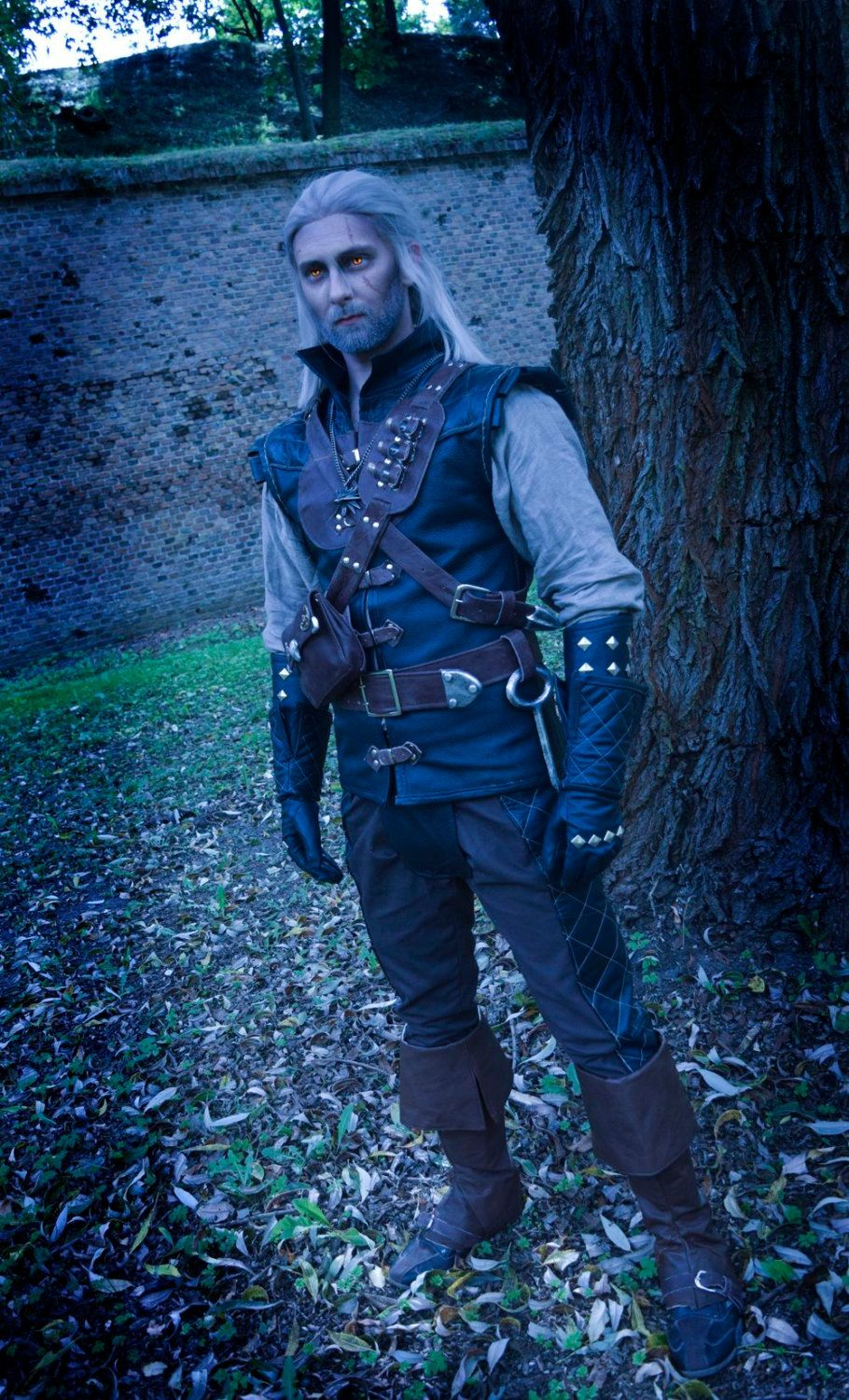 Witcher 3 Manticore Armor Geralt Costume by DreamIncCosplay