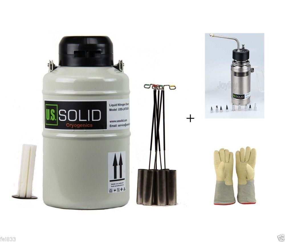 "569.27$  Buy here - http://alizmq.worldwells.pw/go.php?t=32769660232 - ""20 L Liquid Nitrogen Tank + Sprayer + 35cm 13.8"""" Cryogenic Glove"" 569.27$"