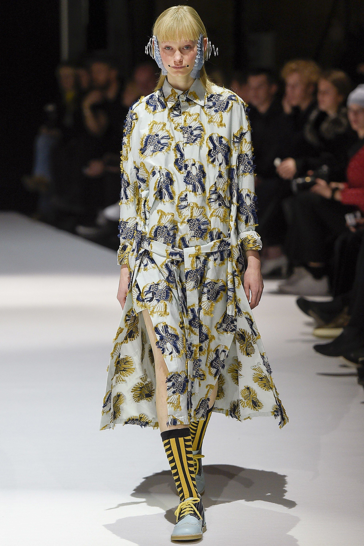 Henrik Vibskov Copenhagen Fall 2017 Fashion Show