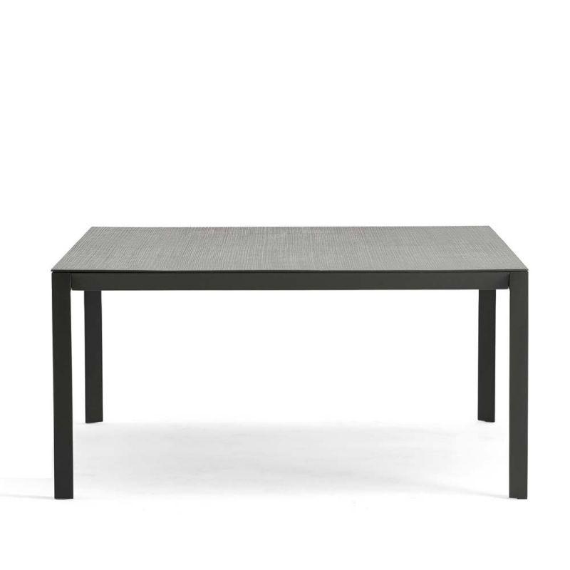 Gartentisch Ausziehbar Ca 180 X 240 Cm Metall Und