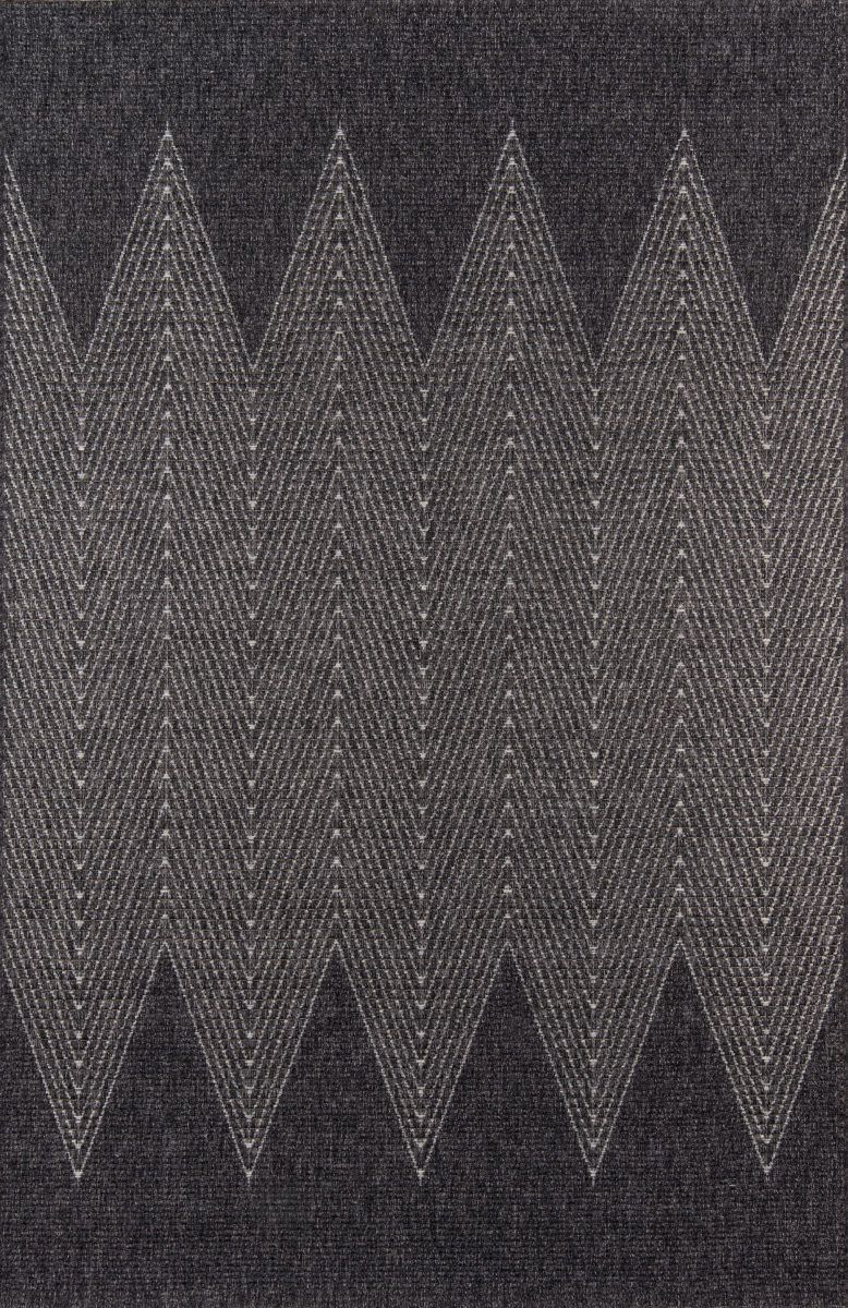 Momeni Como Com-5 Charcoal Area Rug #outdoorrugs