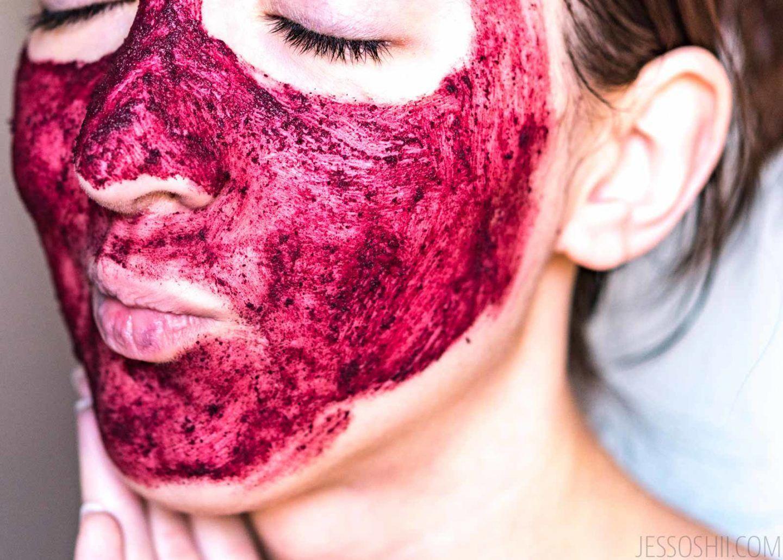 Photo of DIY Homemade Hibiscus Powder, Lavender, & Clay Face Mask #FaceScrubHomemadeBlack…