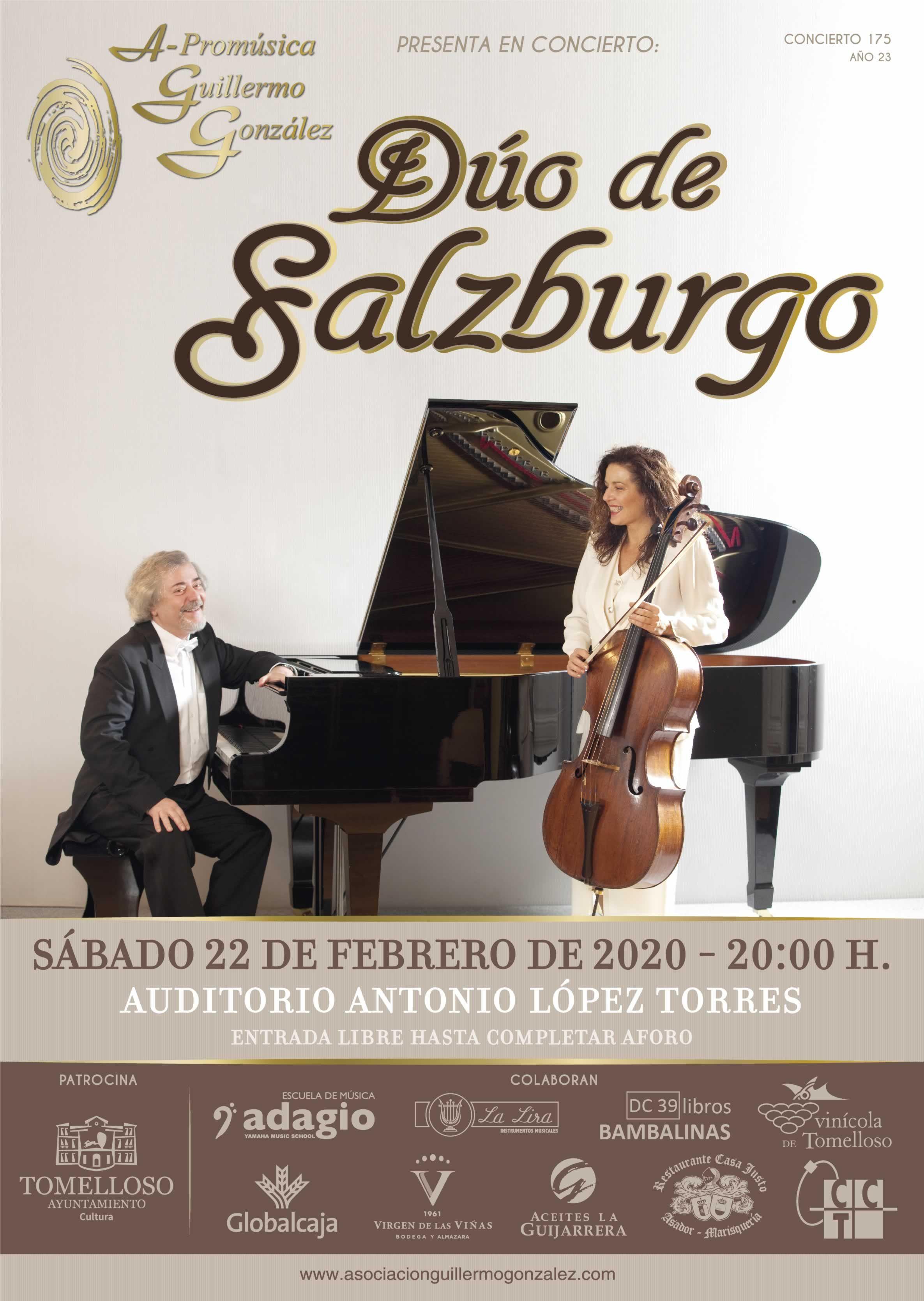El Dúo De Salzburgo Traerá Su Música Hasta Tomelloso El Próximo 22 De Febrero Escuelas De Musica Dúo Musica