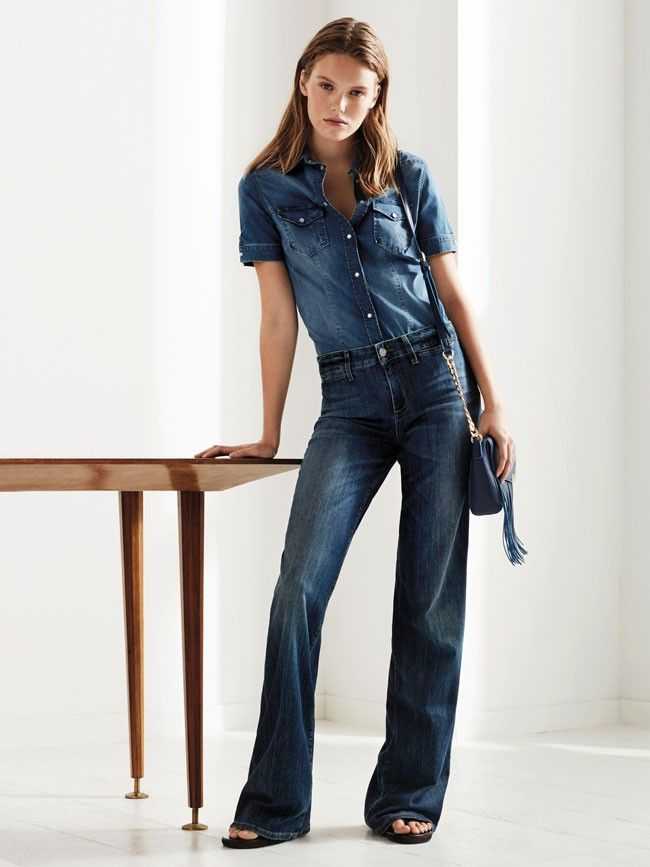 Denim Jeans Fashion Trends In Different Styles For Spring ...