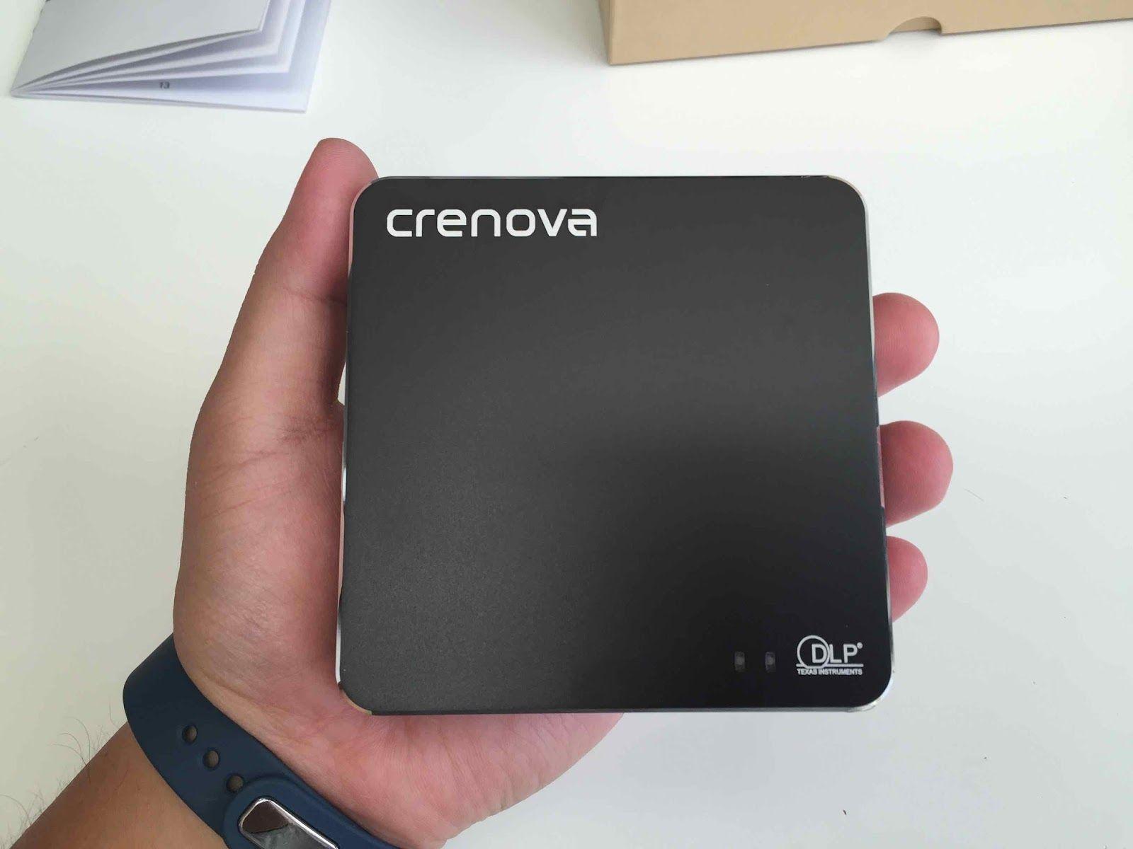 商品リンク: http://amzn.to/2cOqul2       Crenova HDMI小型ミニプロジェクター…