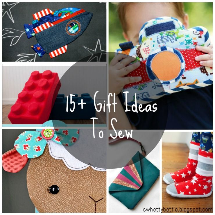 """Swhetty Bettie's Blog: """"Anything But Clothes"""" - Gift Ideas to Sew from the Betties Blog!"""