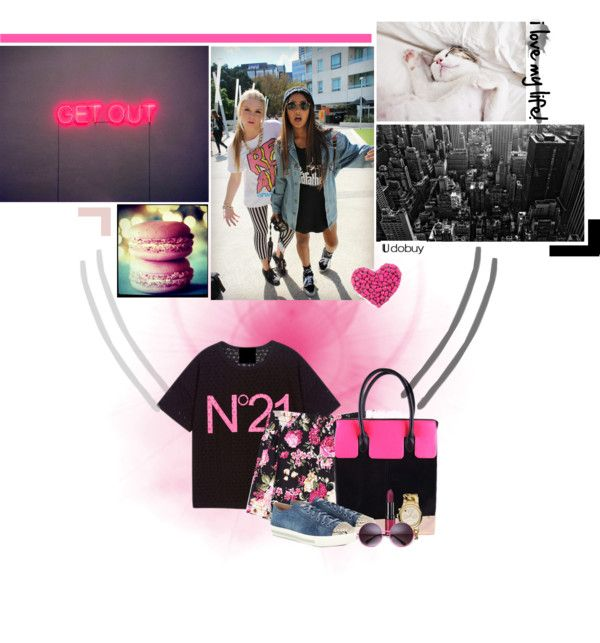 """""""i love my life!"""" by matildeln ❤ liked on Polyvore"""